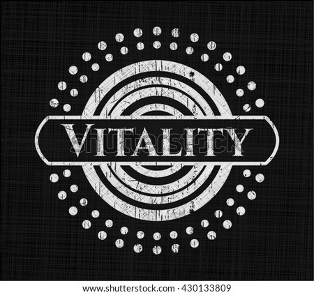 Vitality on blackboard