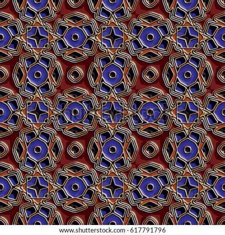 vitreous enamel pattern....