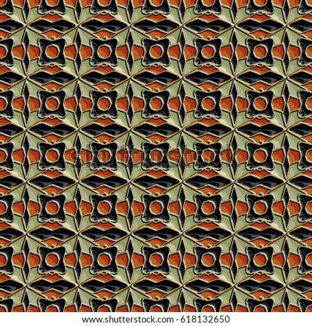 Vitreous enamel pattern. Abstract vector texture for corporate style, interior design, textile, print or web design. #618132650