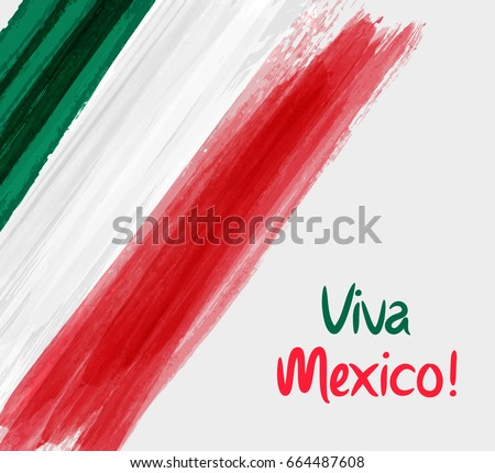 viva mexico background with