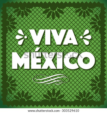 Shutterstock Viva Mexico - Cut Out Paper Composition