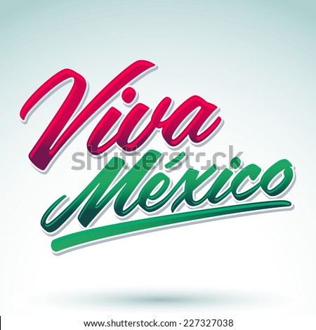 Shutterstock Viva Mexico - mexican holiday icon vector