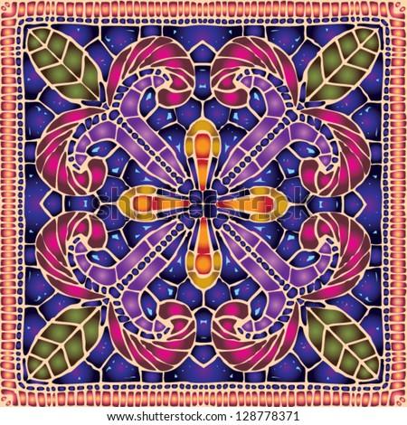 vivid ceramic lace