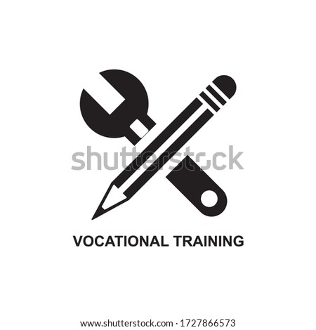 VOCATIONAL MARKETING ICON , OBJECTIVE BUSINESS ICON Stock photo ©