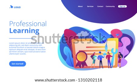 stock-vector-vocational-specialists-graduating-and-diploma-with-graduation-cap-vocational-education