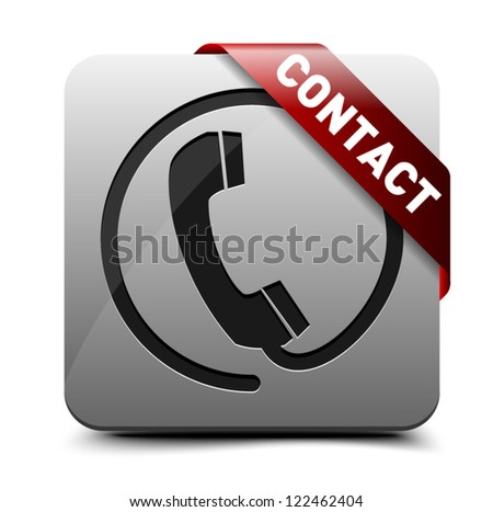 Voice contact button