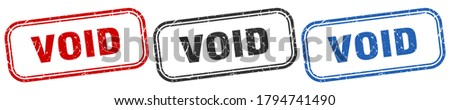 void square isolated sign set