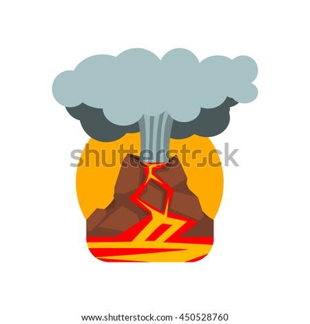 volcano eruption natural force