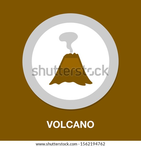 volcano magma nature blowing up
