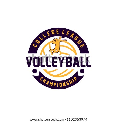Volleyball Logo Free Vector Art 49 Free Downloads