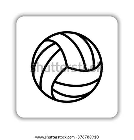 iconswebsite icons website search over 28444869 icons icon Outdated Office Equipment volleyball ball black vector icon
