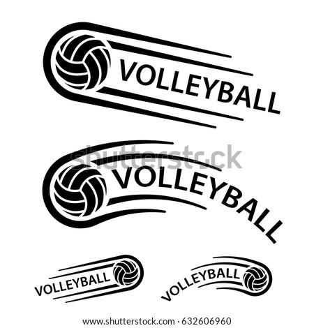 volleyball ball motion line