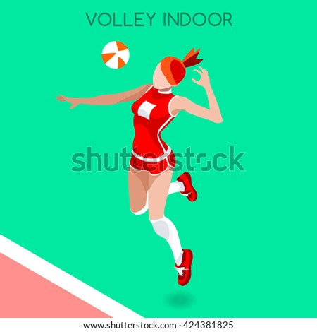 volleyball female player
