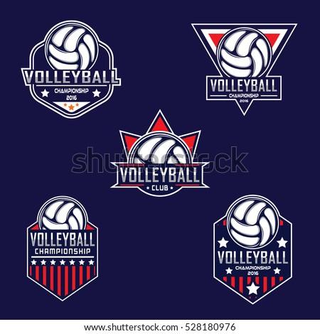 volleyball logo  america logo