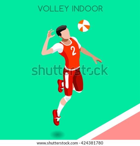 volleyball player sportsman