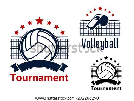 volleyball tournament emblems