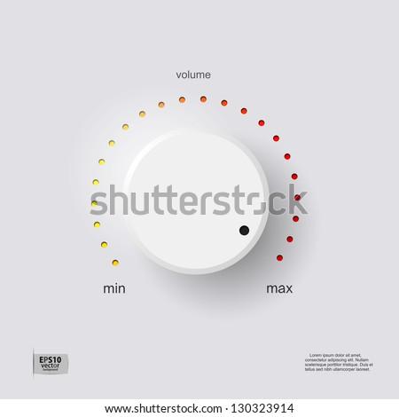 Volume control Stock photo ©