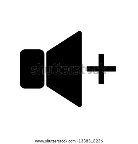 volume icon vector. volume symbol