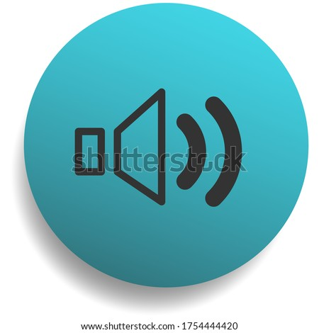 volume up button sign or symbol