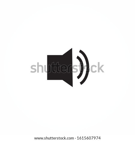 Volume vector image to be used in web applications  mobile applications and print media