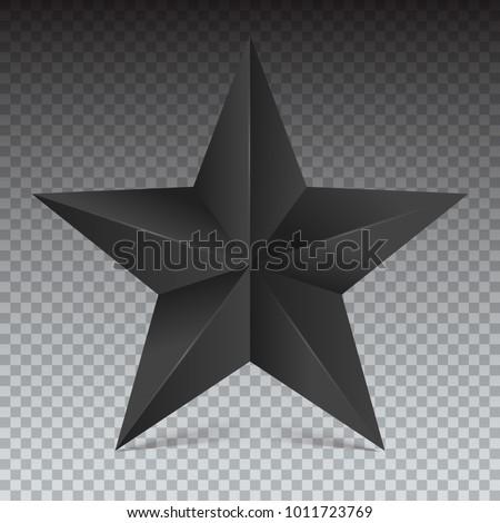 volumetric five pointed star