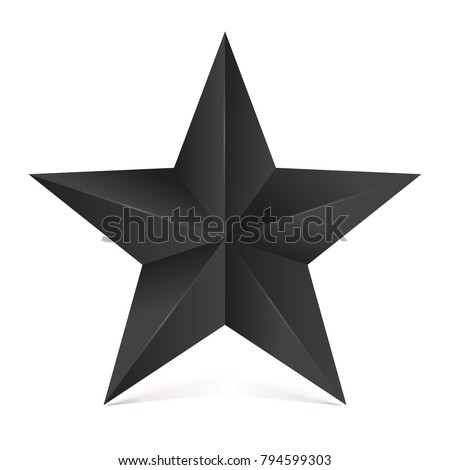 volumetric five pointed star