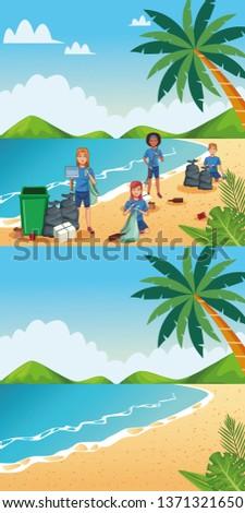 volunteer beach cleaning