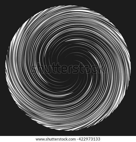 vortex speed lines background