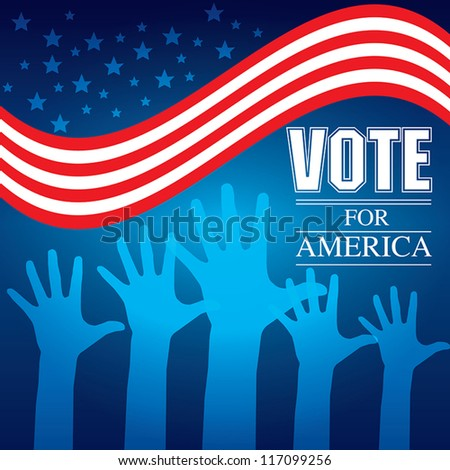 Vote election Vector illustration