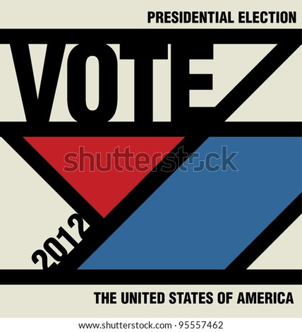 Vote - Retro Presidential Election Design