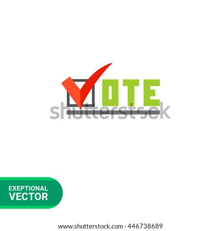 vote vector icon