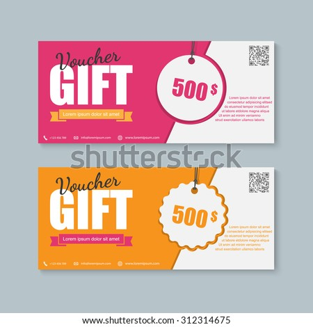 Cdcoupon free vector 4vector for Gift certificate template with logo