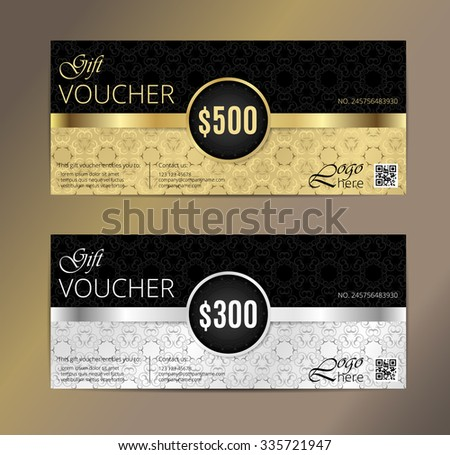 Gift Voucher Templates Download Free Vector Art Stock Graphics