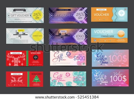 Premium red certificate and diploma template design vector voucher template set stock vector yelopaper Images