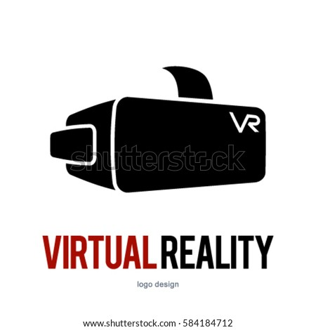 vr virtual reality logo icon