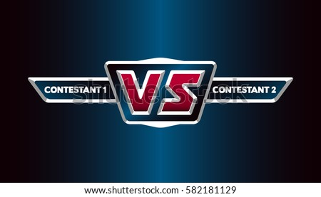 vs logo versus board of rivals