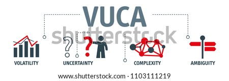 VUCA describing or to reflect on the volatility, uncertainty, complexity and ambiguity of general conditions and situations