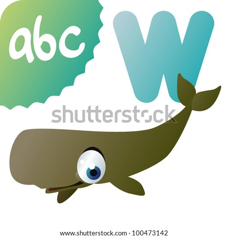 W is for Sperm Whale