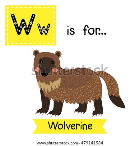 w letter tracing wolverine