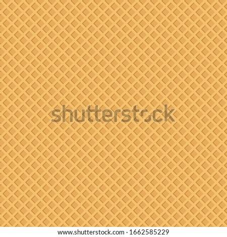 Wafer seamless pattern. Vector Illustration Сток-фото ©