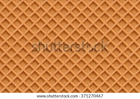 Waffles seamless vector pattern. Sweet and delicious food Сток-фото ©
