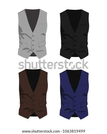 waistcoat different colors