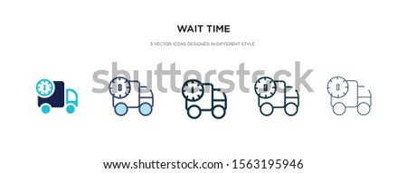 wait time icon in different