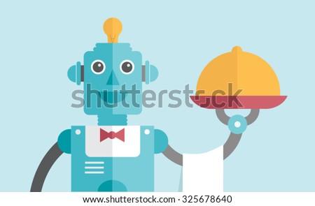 waiter robot