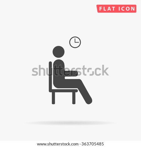 waiting icon vector waiting