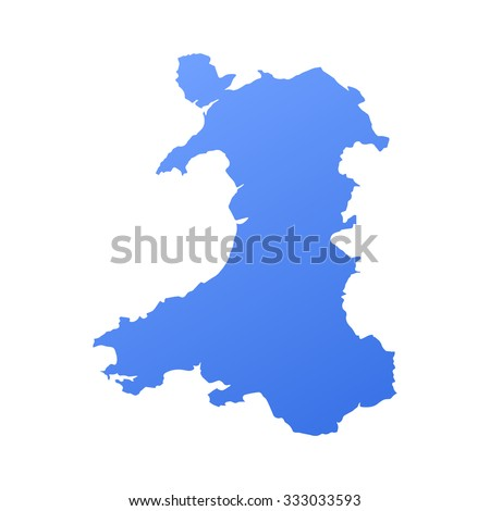 wales country map border