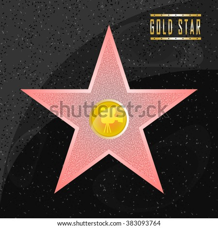 walk of fame star on the