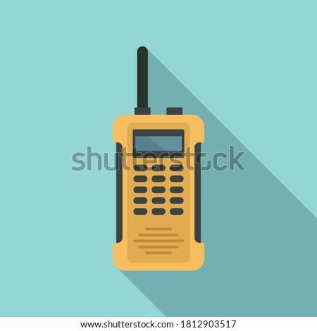 walkie talkie distance icon