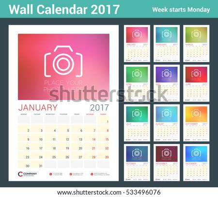 Desktop Calendar Vector Template Download Free Vector Art Stock