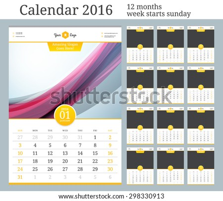 stock-vector-wall-calendar-vector-template-with-place-for-photo-months-week-starts-sunday